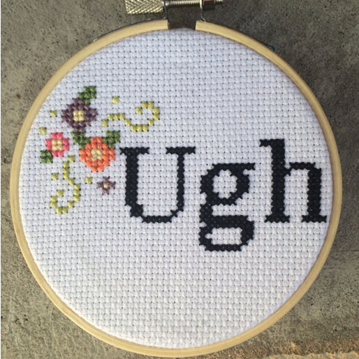 The 20 Rudest Cross Stitch Phrases