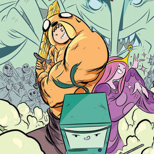<i>Adventure Time: The Flip Side</i> #1 by Paul Tobin and Colleen Coover