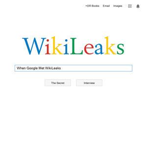 <i>When Google Met WikiLeaks</i> by Julian Assange Review