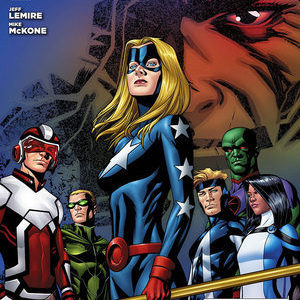 <i>Justice League United</i> #1 by Jeff Lemire and Mike McKone Review