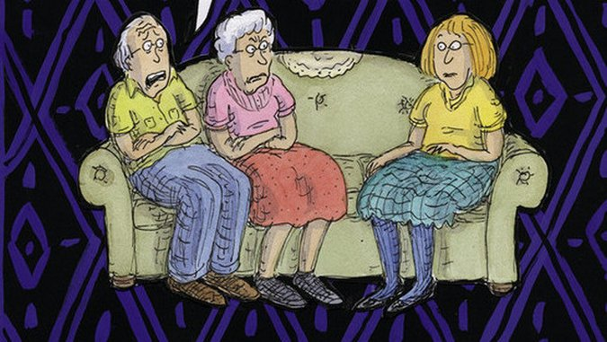 <i>Can't We Talk About Something More Pleasant</i> by Roz Chast Review