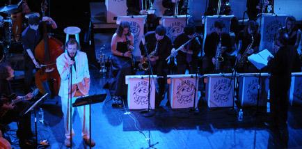 Bon Iver Plays a High-School Auditorium