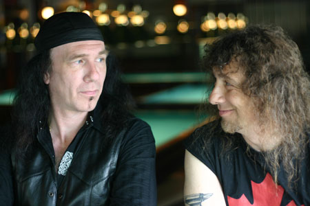 """Catching Up With... Steve """"Lips"""" Kudlow and Robb Reiner of <em>Anvil! The Story of Anvil</em>"""