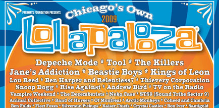 <em>Paste</em>'s Guide to Lollapalooza 2009