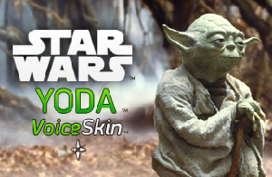 Yoda lends his voice to GPS. Awesome, it is.