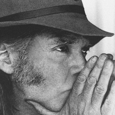 Neil Young Recording With Crazy Horse