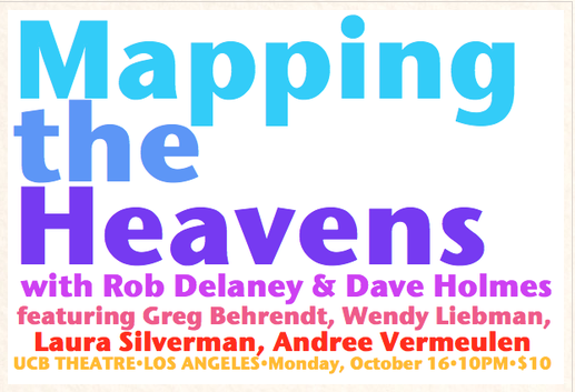 "Dave Holmes and Friends Set to ""Map The Heavens"" Tomorrow Night"