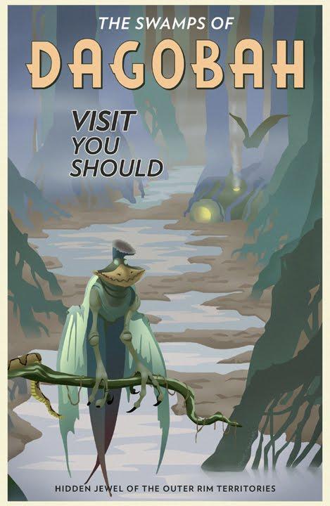 Illustrator Steve Thomas Invites You to Visit the World of <em>Star Wars</em>