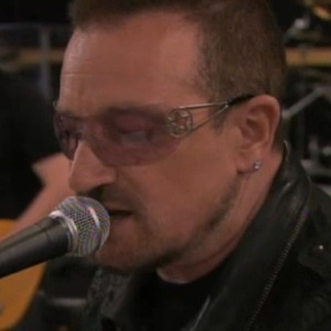 Bono and The Edge Perform Song from <em>Spider-Man</em> Musical