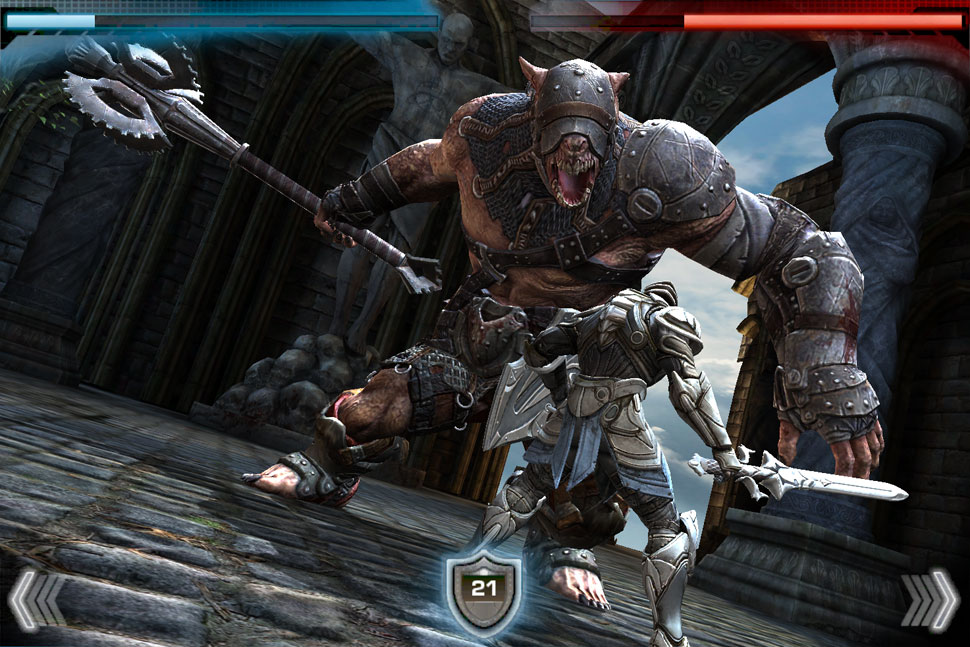 Infinity Blade Review Ios Games Reviews Paste