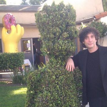 Neil Gaiman to Guest on <em>The Simpsons</em>