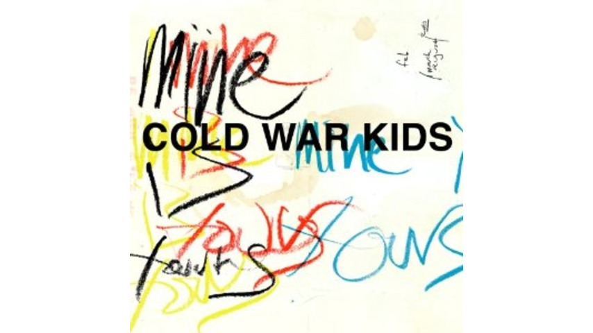 Cold War Kids: <i>Mine Is Yours</i>