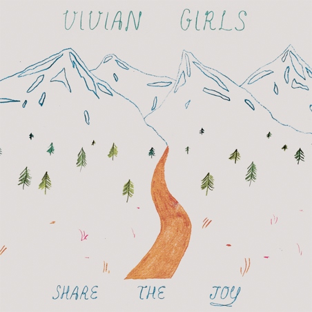 Vivian Girls Announce New Album <i>Share The Joy</i>