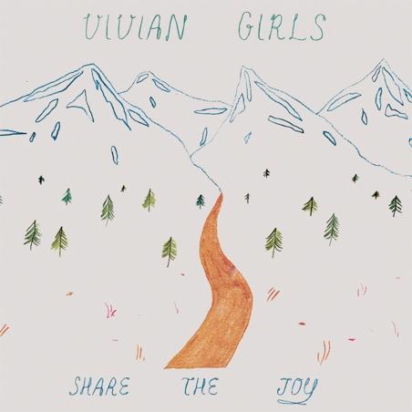 Vivian Girls Announce New Album <i>Share The Joy</i>