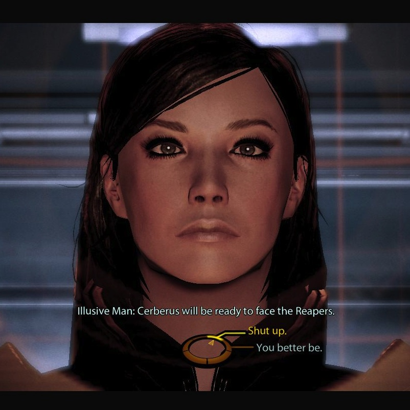 The Voice-Actors of<br> <em>Mass Effect</em>, Placed Head-To-Head