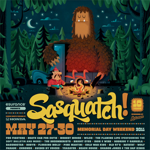 Wilco, Death Cab, Modest Mouse, Flaming Lips Lead 2011 Sasquatch Lineup