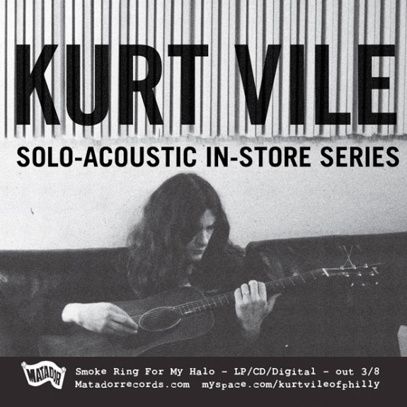 Kurt Vile Announces In-Store Tour, J Mascis Support Dates
