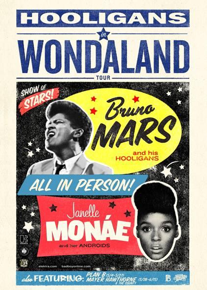 Janelle Monáe, Bruno Mars, Mayer Hawthorne Announce Tour