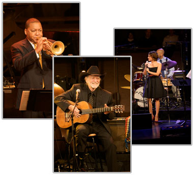 Willie Nelson, Wynton Marsalis and Norah Jones Collaborate on Ray Charles Tribute
