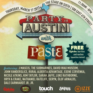 Party in Austin With Paste - March 17, 2011