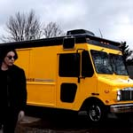 Jack White Drives a Big, Yellow Record Store