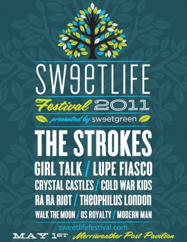 The Strokes to Headline Sweetlife Festival