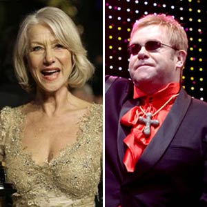 Elton John and Helen Mirren Hosting <em>SNL</em> in April