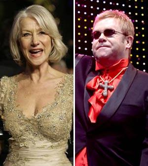 Elton John and Helen Mirren Hosting <em>SNL</em> in April