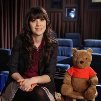 Zooey Deschanel to Play On <em>Winnie the Pooh</em> Soundtrack