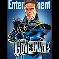 Arnold Schwarzenegger's <em>Governator</em> To Appear in Film, Videogame, TV, Comic Form