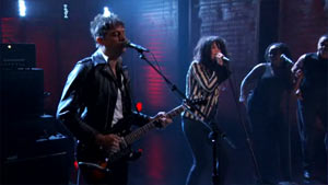 Watch The Kills Perform on Conan