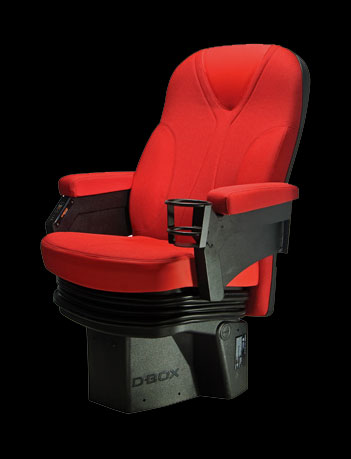 The D-Box Plans to Enhance Films with Shaking Chair