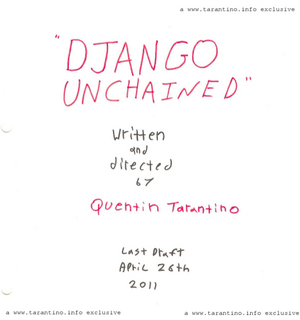 Watch Stars From <i>Django Unchained</i> Discuss Tarantino's Screenplay