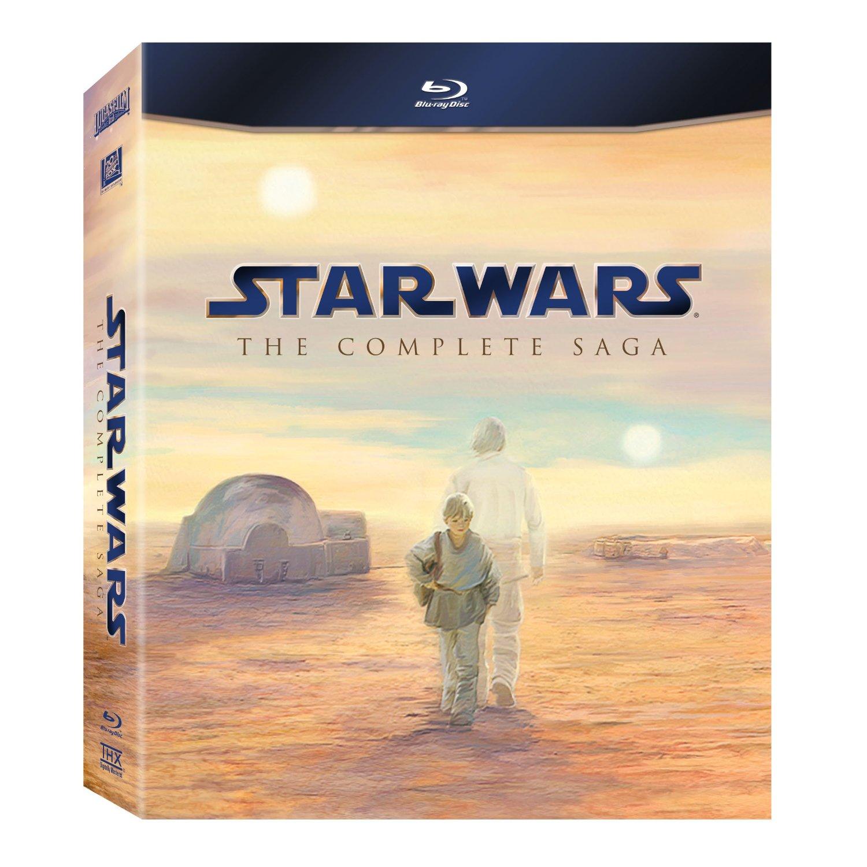 <em>Star Wars</em> Saga Blu-Ray Release Date Announced