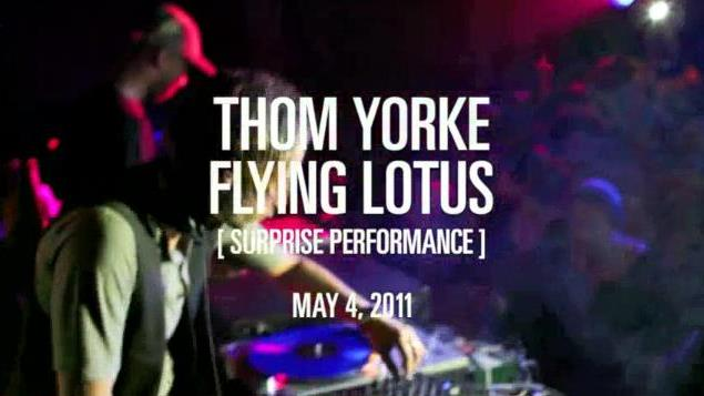 Watch Thom Yorke Perform Another Surprise DJ Set with Flying Lotus