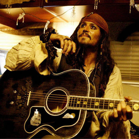 Johnny Depp and Steven Tyler Collaborate in Songwriting Sessions