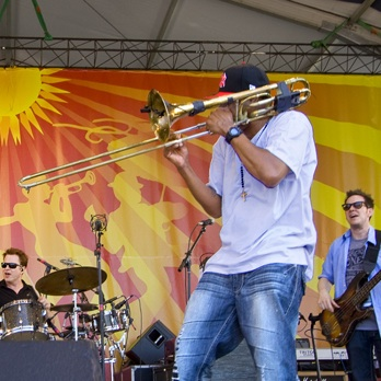 Galactic at Jazz Fest 2011
