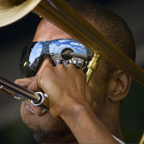 Trombone Shorty at Jazz Fest 2011