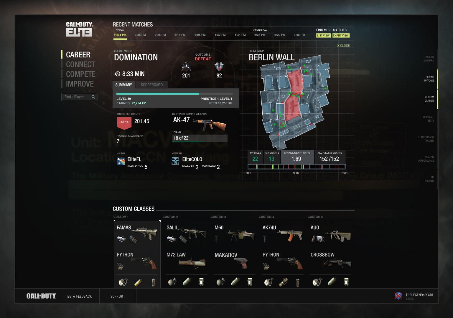 """Hands-On: <em>Call of Duty</em>'s """"Elite"""" Online Service"""
