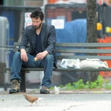 Keanu Reeves Writes Satire On His Sadness