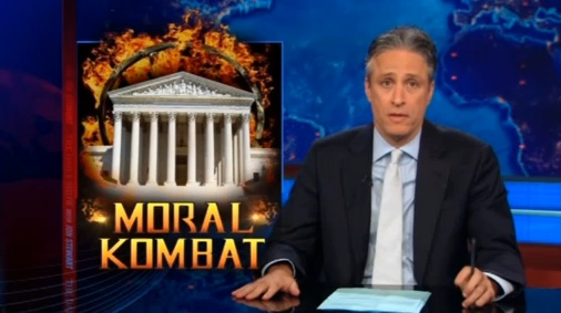 Jon Stewart Talks Videogames: Funny, If A Bit Unfair