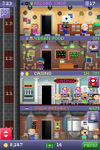 <em>Tiny Tower</em> Review (iOS)