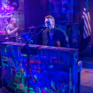 Watch Coldplay on <i>The Colbert Report</i>
