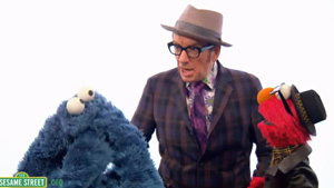 Watch Elvis Costello Perform on &lt;i&gt;Sesame Street&lt;/i&gt;