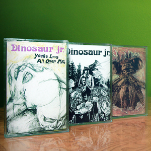 Dinosaur Jr. Reissues Earliest Albums on Cassette Tape