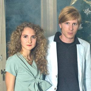 Tennis: Alaina and Patrick