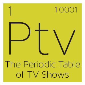 Infographic: The Periodic Table of TV