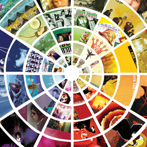 Infographic: The Color Wheel of Album Covers