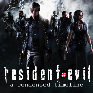 Infographic: &lt;i&gt;Resident Evil,&lt;/i&gt; A Condensed Timeline