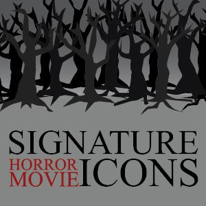 Infographic: Signature Horror Movie Icons